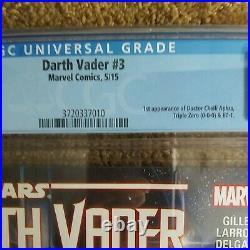 Star Wars Darth Vader #3 1st Print CGC 9.8 1st Doctor Aphra