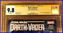 Star Wars Darth Vader 3, (2015), CGC 9.8 SS, signed by Granov, NM/MT, 1st Aphra