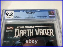 Star Wars Darth Vader 3 CGC 9.8 Larroca 125 Variant 1st Doctor Aphra C Details