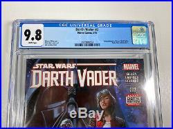 Star Wars Darth Vader #3 CGC 9.8 (Marvel comics 2015) 1st App Dr Aphra BT-1, 000