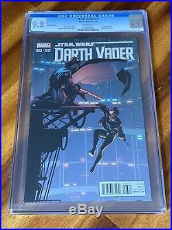 Star Wars Darth Vader #3 Salvador Larroca 125 Variant CGC 9.8 1st Doctor Aphra