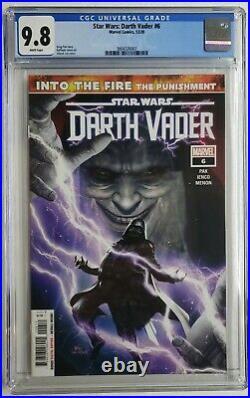 Star Wars Darth Vader #6 Cgc 9.8 1st Appearance Ochi Sith Assassin 2020