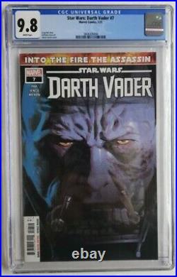 Star Wars Darth Vader #7 Cgc 9.8 1st Full Appearance Ochi Sith Assassin 2021