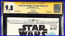 Star Wars Force Awakens #1 Cgc Ss 9.8 Mara Jade Original Art Sketch Skywalker