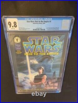 Star Wars Heir To The Empire #1 (1995) Cgc Grade 9.8 1st App Thrawn