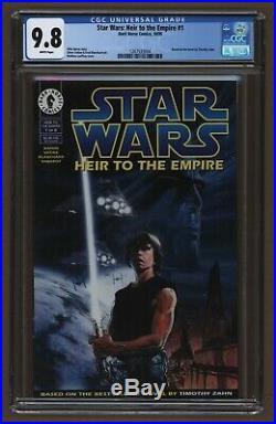 Star Wars Heir To The Empire #1 CGC 9.8 1st Admiral Thrawn & Mara Jade 1995