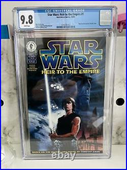 Star Wars Heir To The Empire 1 CGC 9.8 1st THRAWN, Mara Jade