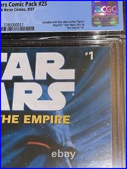 Star Wars Heir To The Empire #1 CGC 9.8 Comic Pack #25 Variant Hasbro 1st THRAWN