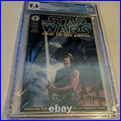 Star Wars Heir To The Empire #1 Cgc 9.6 1st App Admiral Thrawn Dark Horse Comics