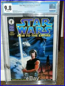 Star Wars Heir To The Empire #1 Cgc 9.8 First Print First App General Thrawn