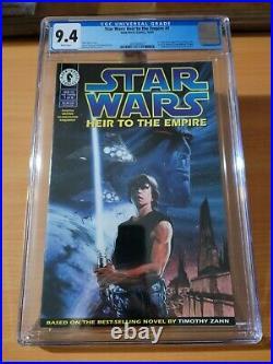 Star Wars Heir to the Empire #1 CGC 9.4 1995 Dark Horse Thrawn Mara Jade