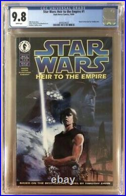 Star Wars Heir to the Empire #1 CGC 9.8 1st Grand Admiral Thrawn 1st Mara Jade