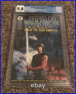 Star Wars Heir to the Empire #1 CGC 9.8 NM/MT 1st Grand Admiral Thrawn, Mara Jade