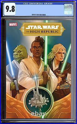 Star Wars High Republic #1 CGC 9.8 Main Cover Rack