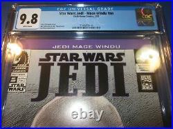 Star Wars Jedi Mace Windu 1st Asajj Ventress Hot Key CGC 9.8 NM/M Gem Wow