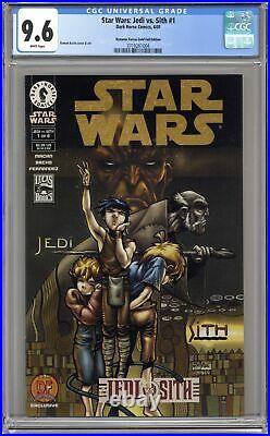 Star Wars Jedi vs. Sith 1DF. GOLD CGC 9.6 2001 3719261004