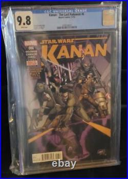 Star Wars Kanan The Last Padawan #6 1st Sabine Wren Hera Ezra CGC 9.8