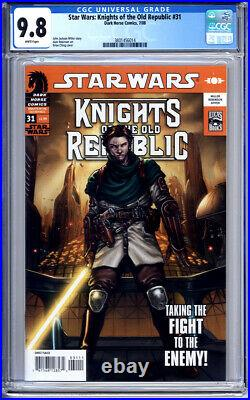 Star Wars Knights Of The Old Republic #31 Cgc 9.8 White Pages 2008