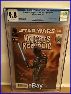 Star Wars Knights Of The Old Republic 9 Cgc 9.8 1st Full Revan Super-high Grade