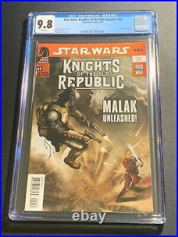 Star Wars Knights of the Old Republic #42 CGC 9.8 (Dark Horse Comics 2009)