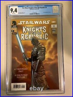 Star Wars Knights of the Old Republic #9 CGC 9.4 1st App Revan