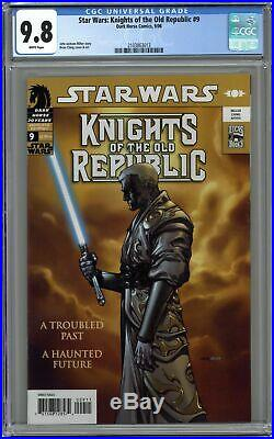 Star Wars Knights of the Old Republic #9 CGC 9.8 2006 2103863013