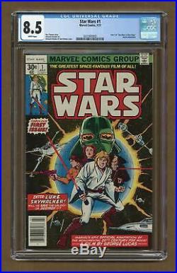 Star Wars (Marvel) #1 1977 1st Printing CGC 8.5 0321693003