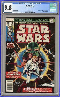 Star Wars (Marvel) #1 1977 1st Printing CGC 9.8 1396902020