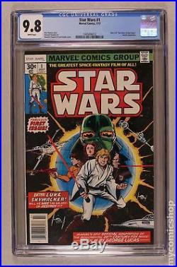 Star Wars (Marvel) #1 1977 1st Printing CGC 9.8 1445006012