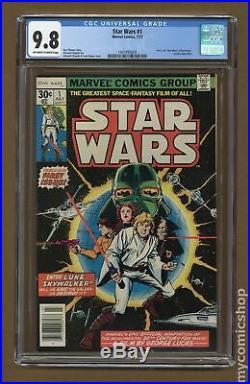 Star Wars (Marvel) #1 1977 1st Printing CGC 9.8 1497495009