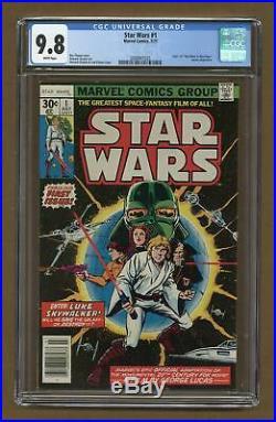 Star Wars (Marvel) #1 1977 1st Printing CGC 9.8 2008947025