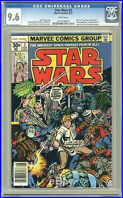 Star Wars (Marvel) #2 1977 1st Printing CGC 9.6 0151104014