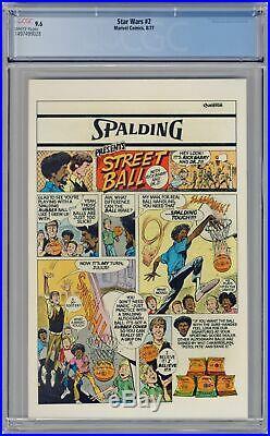 Star Wars (Marvel) #2 1977 1st Printing CGC 9.6 1497499028