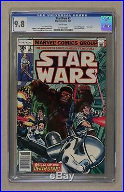 Star Wars (Marvel) #3 1977 1st Printing CGC 9.8 1110610051
