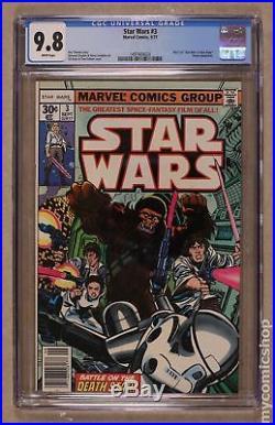 Star Wars (Marvel) #3 1977 1st Printing CGC 9.8 1497404024