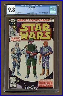Star Wars (Marvel) #42 1980 CGC 9.8 2011665009