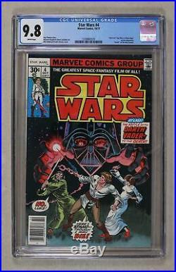 Star Wars (Marvel) #4 1977 1st Printing CGC 9.8 1339882025