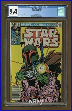 Star Wars (Marvel) #68 1983 CGC 9.4 1397014020