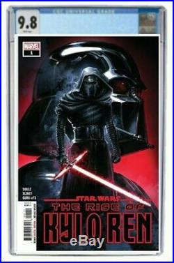 Star Wars Rise Of Kylo Ren #1 CGC 9.8 Graded First Printing Pre Order Ben Kenobi
