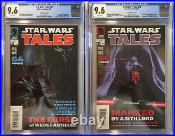 Star Wars Tales #23 & #24 CGC 9.6. 1st Darth Revan, Darth Malak, Darth Anihilus