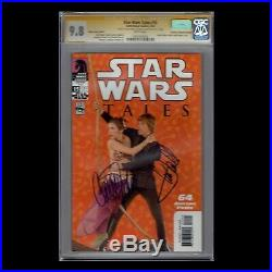 Star Wars Tales CGC SS 9.8 signed by Mark Hamill and Carrie Fisher