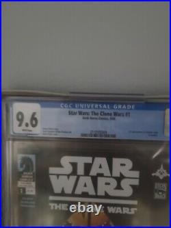 Star Wars The Clone Wars #1 2008 CGC 9.6 First Ahsoka Tano