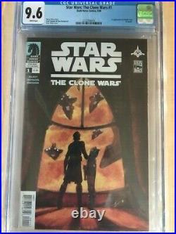 Star Wars The Clone Wars 1 CGC 9.6 1st Ahsoka Tano & Captain Rex THE MANDALORIAN
