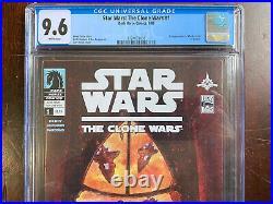 Star Wars The Clone Wars #1 CGC 9.6 (2008) 1st App of Ahsoka Tano in Comics