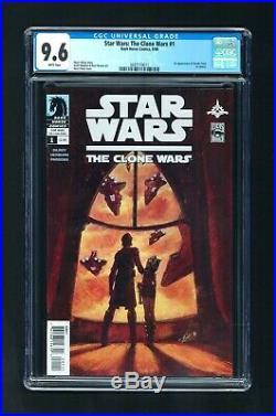 Star Wars The Clone Wars #1 CGC 9.6 NM+ 2008 Dark Horse 1st App Ahsoka Tano