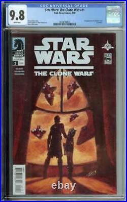 Star Wars The Clone Wars #1 CGC 9.8 1st App Ahsoka Tano Dark Horse