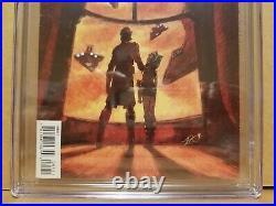 Star Wars The Clone Wars #1 Cgc 8.0 (vf) 1st Ahsoka Tano Appearance 2008 Key