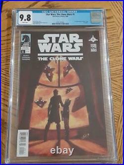 Star Wars The Clone Wars #1 Cgc 9.8 1st Ahsoka Tano Near Mint Mandalorian Tv