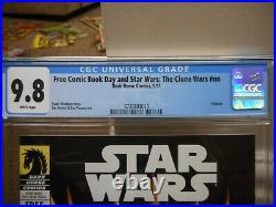 Star Wars The Clone Wars nn cgc 9.8 FCBD 2011 1st Savage Opress Darth Maul NM M