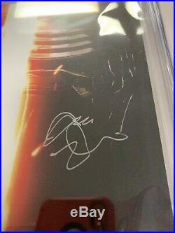 Star Wars The Force Awakens #5 Movie Variant CGC Graded SS Adam Driver Kylo Ren